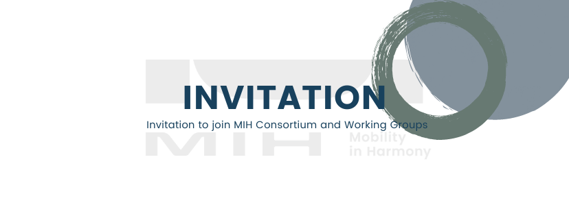 MIH Consortium與工作小組邀請說明