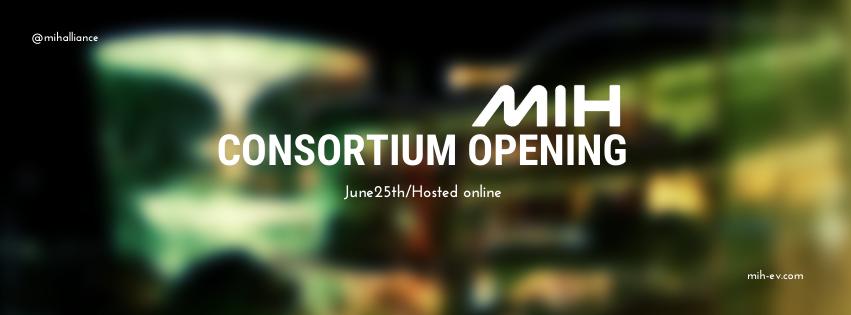 6/25 MIH Consortium 成立大會